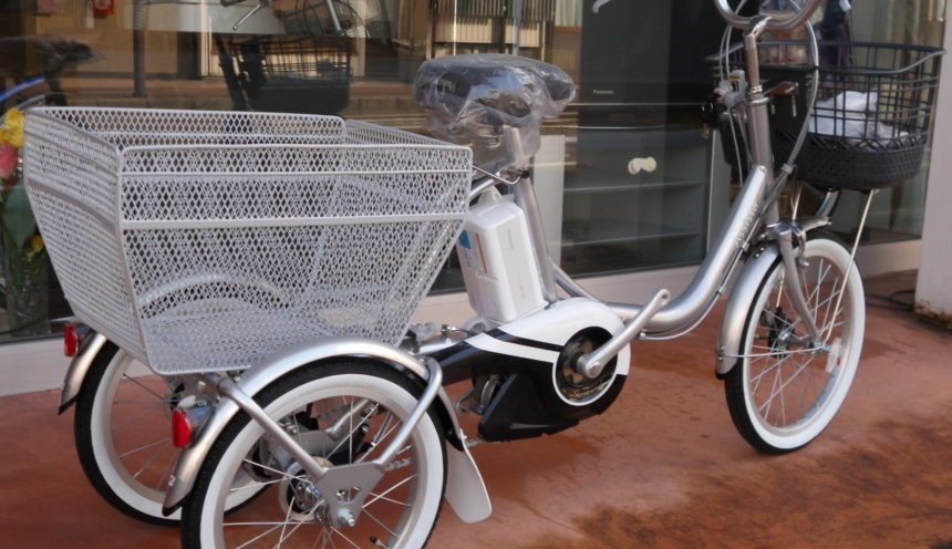電動三輪車に試乗車したいと思われている方、朗報です!! サムネイル
