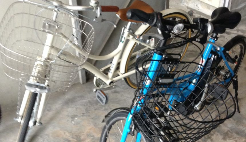 自転車の保管方法について。 サムネイル