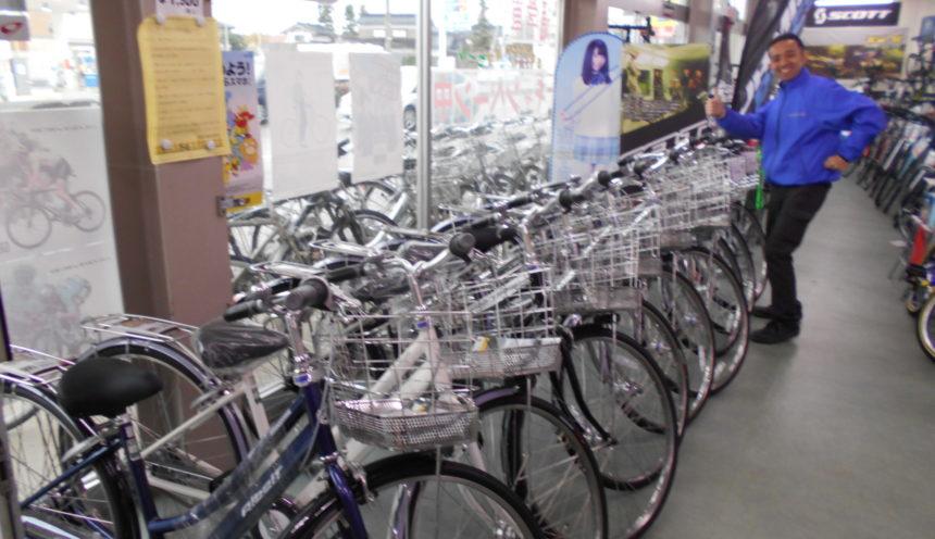 砺波市 サイクルセンター清登さんでは2019年通学車展示販売中!! サムネイル